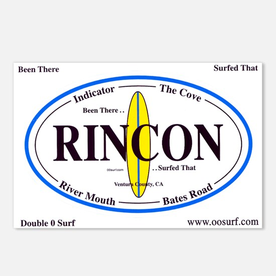 Rincon Surf Spots Postcards (Package of 8)