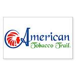 American Tobacco Trail Rectangle Sticker