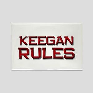 keegan rules Rectangle Magnet