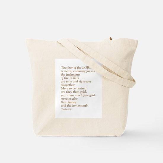 Bible Honey Bee Tote Bag