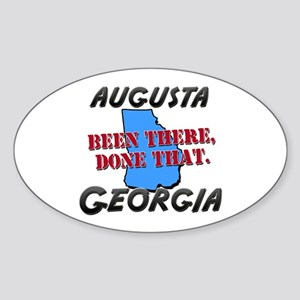 augusta georgia - been there, done that Sticker (O