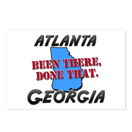 atlanta georgia - been there, done that Postcards