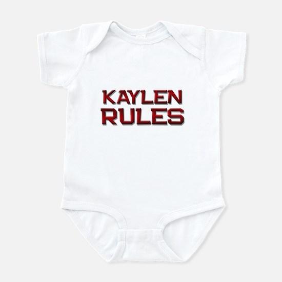 kaylen rules Infant Bodysuit