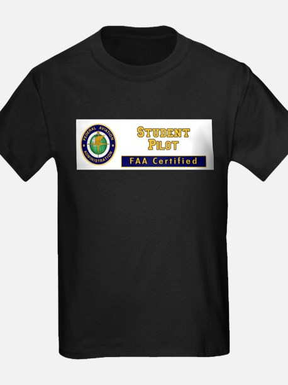 FAA Certified Student Pilo T-Shirt