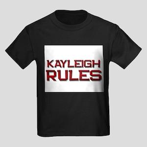kayleigh rules Kids Dark T-Shirt
