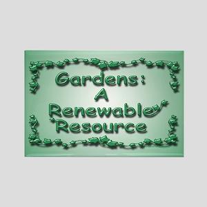 Renewable Rectangle Magnet