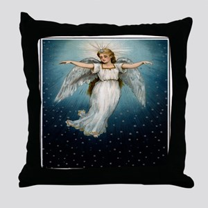 """Guardian Angel"" Throw Pillow"