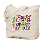 ABC Healthy Foods Alphabet Tote Bags for Teachers