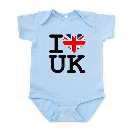 I Heart UK Infant Bodysuit