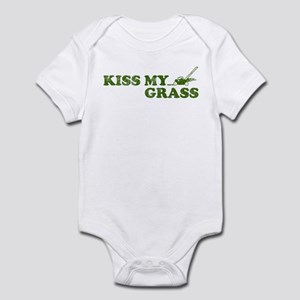 Kiss my Grass Infant Bodysuit
