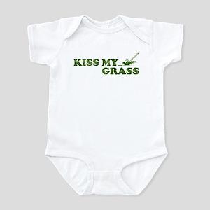 Kiss my Grass Infant Bodysuit