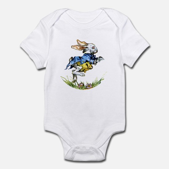 WHITE RABBIT - FOLLOW ME Infant Bodysuit