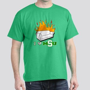 I Love the Spartans T-Shirt
