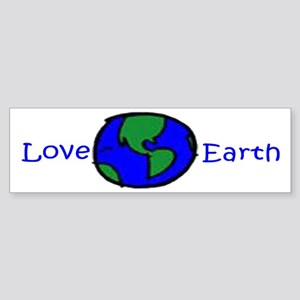 Love Earth Bumper Sticker