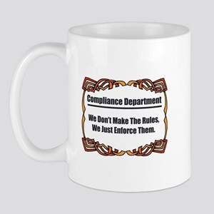 Enforce The Rules Mug