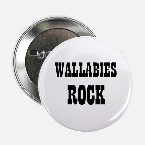 """WALLABIES ROCK 2.25"""" Button (10 pack)"""