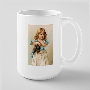 """Victorian Girl"" Large Mug"
