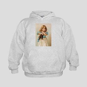 """""""Victorian Girl"""" Kids Hoodie"""