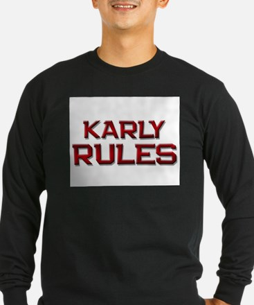 karly rules T