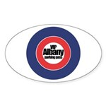 Albany VIP Parking - Oval Sticker