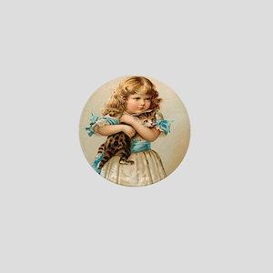 """""""Victorian Girl"""" Mini Button"""