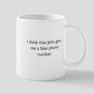 Fake number Mug