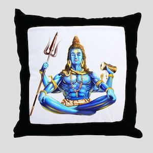 Shiva No Background Throw Pillow