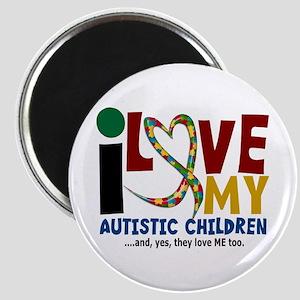 I Love My Autistic Children 2 Magnet