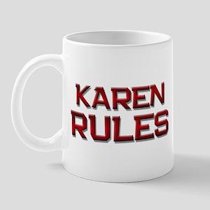 karen rules Mug