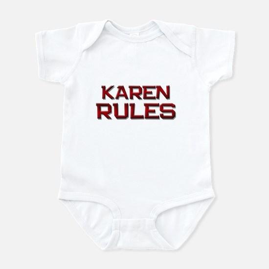 karen rules Infant Bodysuit