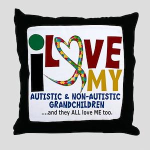 I Love My Autistic & NonAutistic Grandchildren 2 T