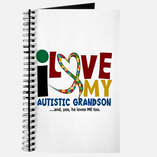 I Love My Autistic Grandson 2 Journal