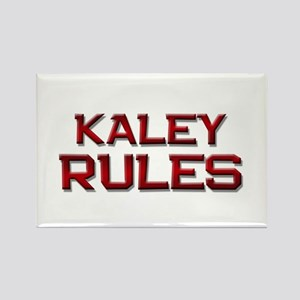 kaley rules Rectangle Magnet