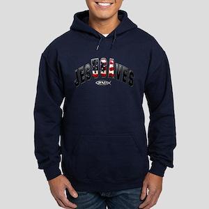 USA Jesus Hoodie (dark)