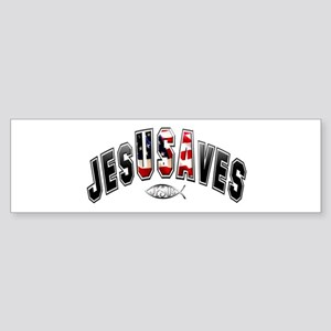 USA Jesus Bumper Sticker