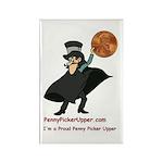 Penny Picker Upper Rectangle Magnet (10 pack)