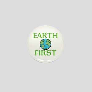 EARTH FIRST Mini Button