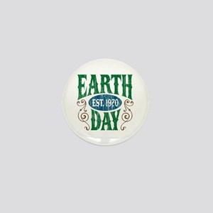 Earth Day Est. 1970 Mini Button