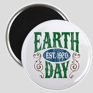 Earth Day Est. 1970 Magnet