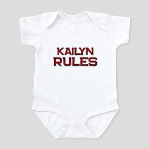 kailyn rules Infant Bodysuit