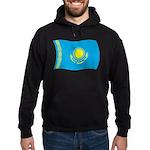 Kazakhstan Flag Hoodie (dark)