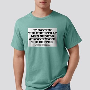 IT SAYS IN THE BIBLE - COFFEE - HEBREWS T-Shirt