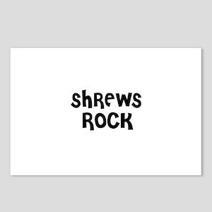 SHREWS ROCK Postcards (Package of 8)