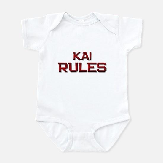 kai rules Infant Bodysuit