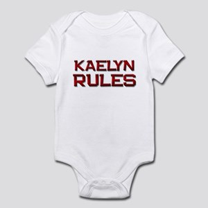 kaelyn rules Infant Bodysuit