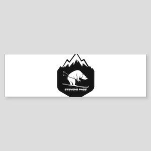 Stevens Pass Ski Area - Stevens P Bumper Sticker