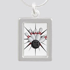 Bowling Strike Necklaces