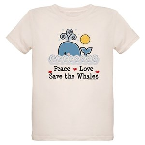02df66202a10 Save The Whales Organic Kids T-Shirts - CafePress
