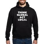 Think Global Hoodie (dark)