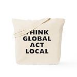 Think Global Tote Bag